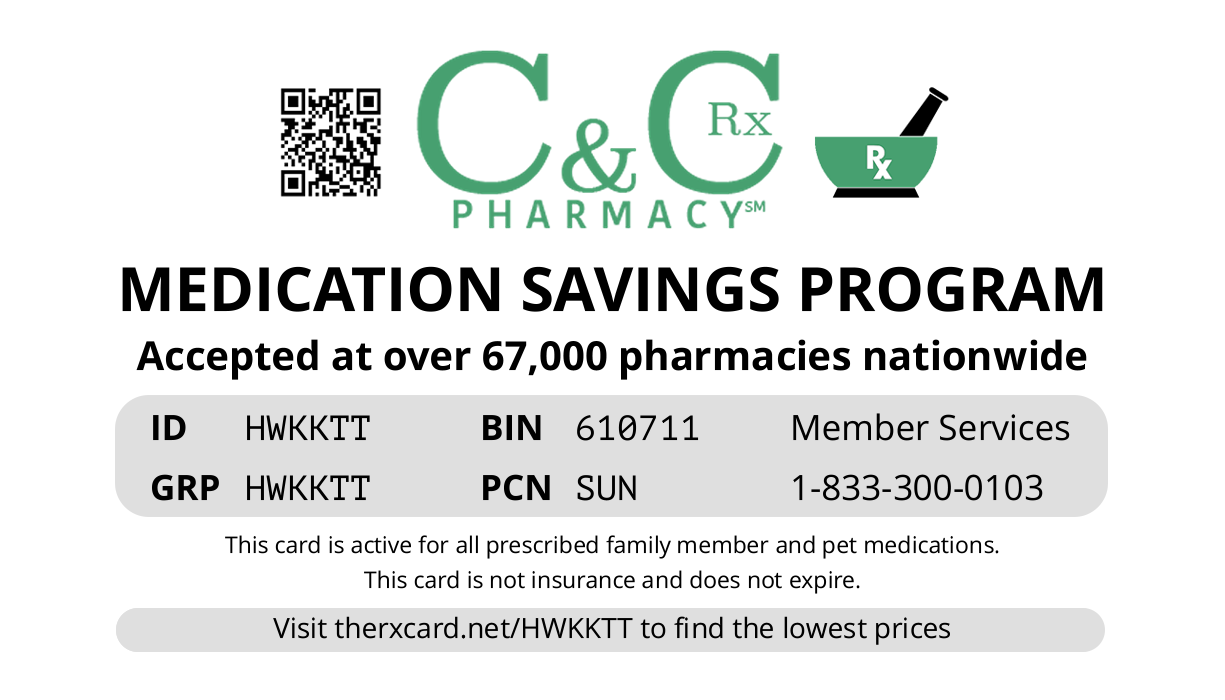 C&C Pharmacy Card
