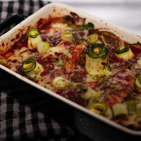 VEGETABLE LASAGNA WITH A TWIST