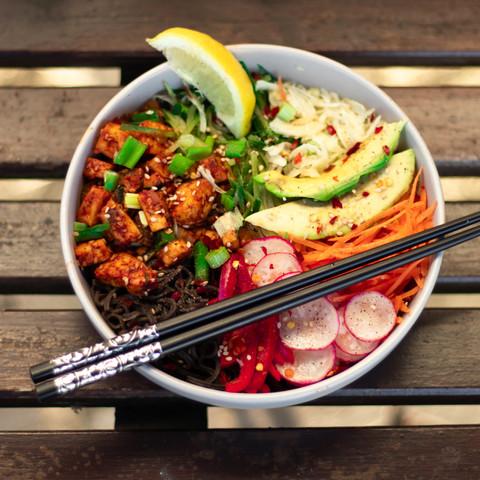 Tofu Salad Bowl