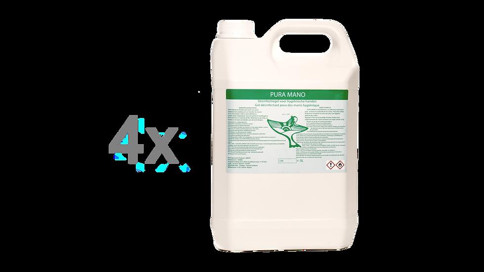 4 x Disinfectant 5l