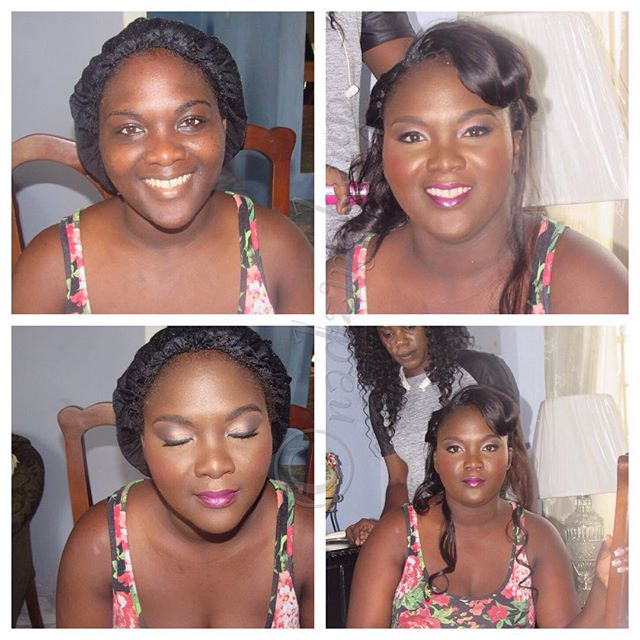 #bridalmakeup #beautifulbride #nadzmakeup #weddingsinjamaica #jamaicanmakeupartist #makeupartistinja