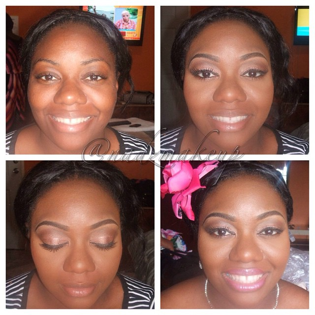 Tbt #bridesmaid #makeupartistinjamaica #jamaicanmakeupartist #nadzmakeup
