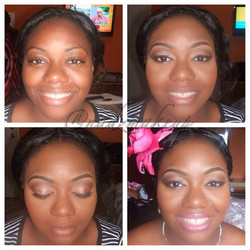 Tbt #bridesmaid #makeupartistinjamaica #jamaicanmakeupartist #nadzmakeup