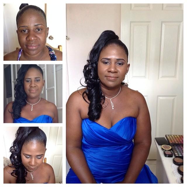 #nadzmakeup #bridalmakeup #beforeandafter