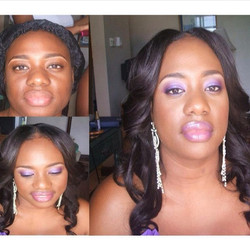 #beat #makeupartistinjamaica #weddingpartymakeup