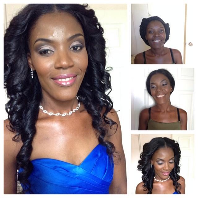 #picstitch #bridalmakeup #matchmaster #nadzmakeup #makeupartistinjamaica