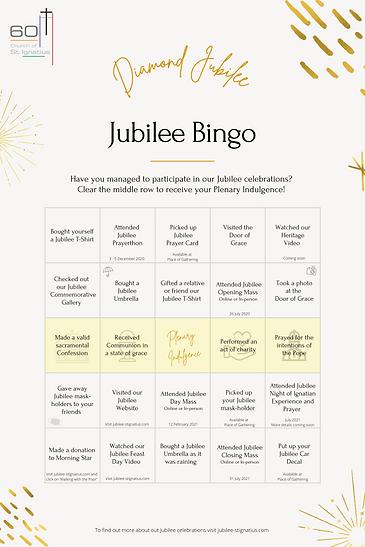 Diamond Jubilee Bingo