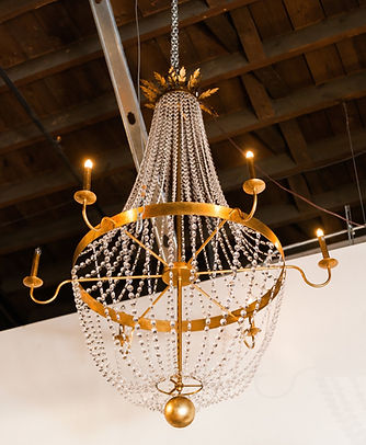 Gold Parisian Chandelier