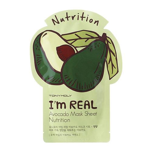 ( 10PCS) I AM AVOCADO MASK SHEET - NUTRITION