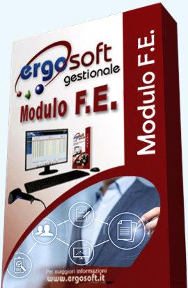 Ergosoft FE - modulo di Fatturazione Elettronica (80,00 €.) / ANNO