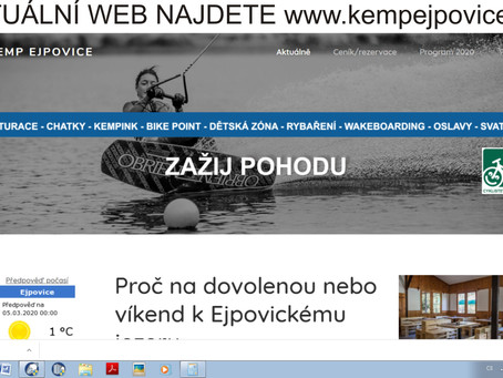 Nové www stránky