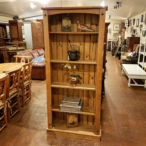 MEXICAN PINE BOOKCASE $199