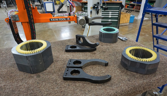 Clamp End Effector Tooling