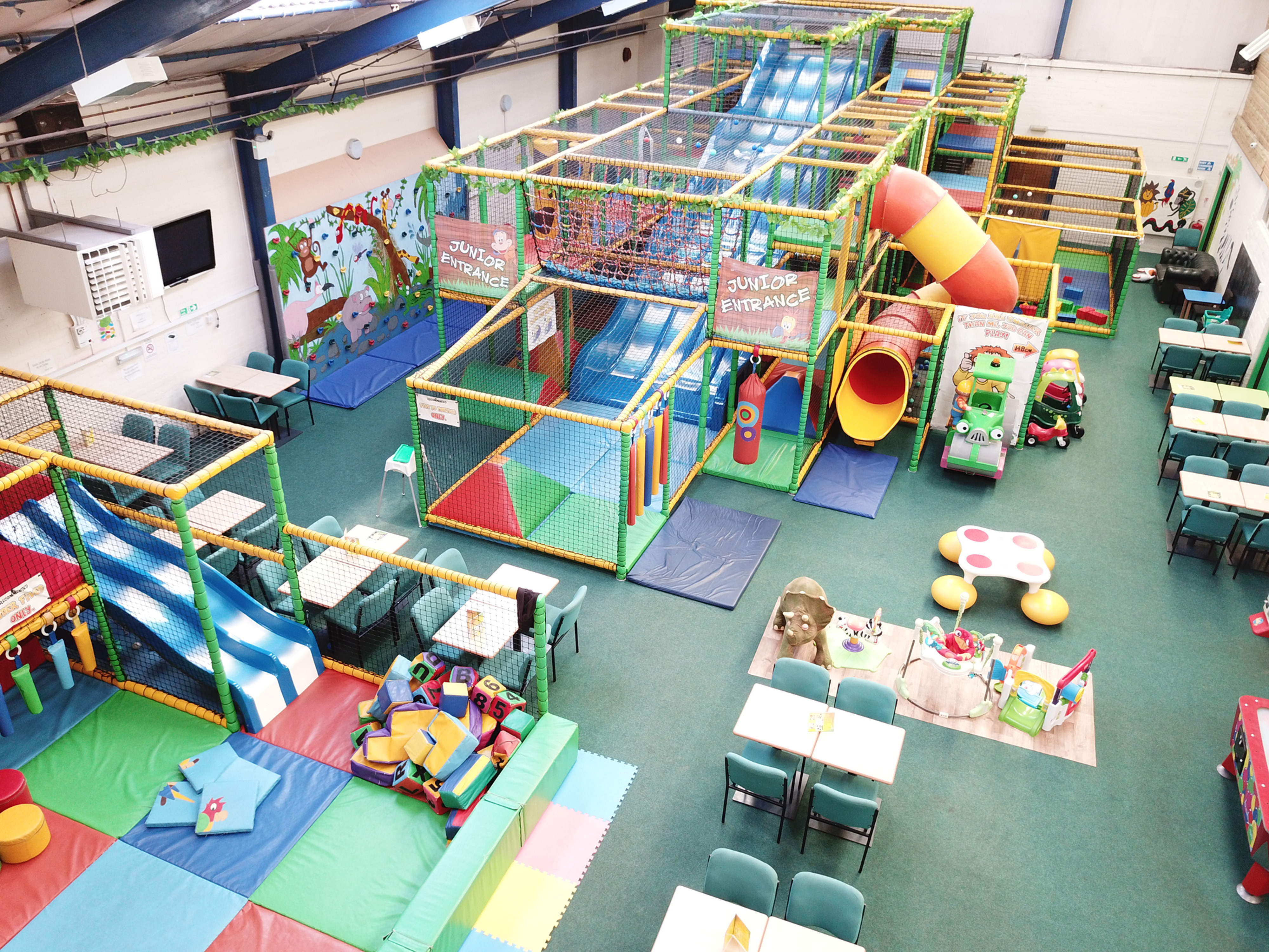 Soft play session (2hrs)