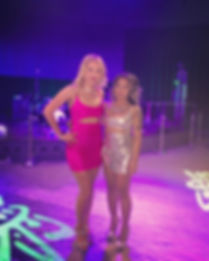 Daavia and Cherry at 12 Tribes Casino