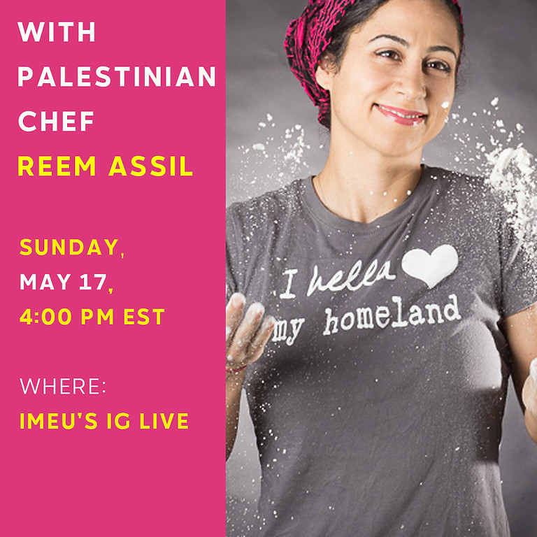 Institute for Middle East Understanding IG Live Cooking