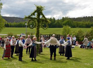 El Día de Midsommar en Suecia