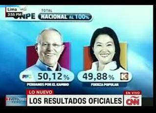 Pedro Kuczynski es el nuevo presidente de Perú.