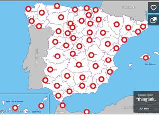 Novelas ambientadas en cada una de las provincias españolas!