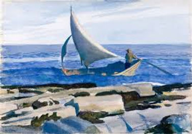 Sailing Boat, Edward Hopper