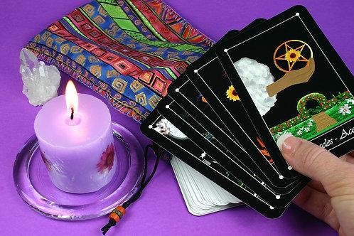 Tarot Reading--Seven Card Spread