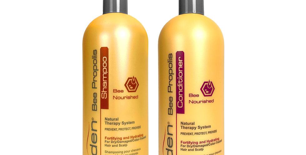 Iden Bee Nourished - Shampoo & Conditioner Duo (32 fl.oz)