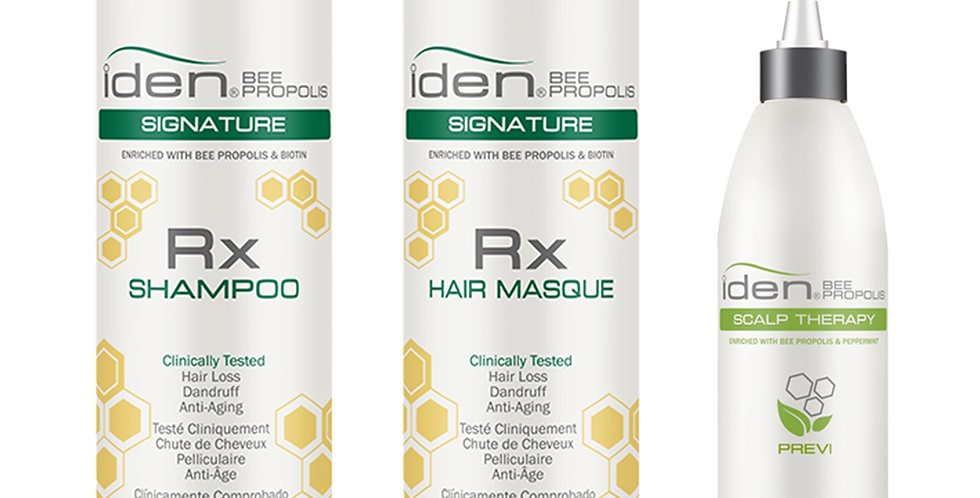 Signature Rx Shampoo & Hair Masque (12 fl.oz) - FREE Previ Scalp Cleanser