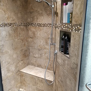 Crafted shower