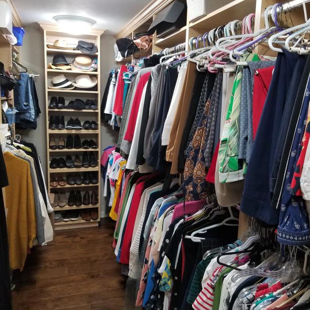 Everyone's dream closet