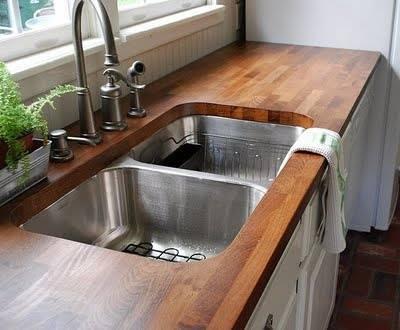 Stylish Wooden Countertops