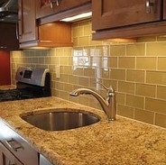 Glass Tile Updated Classic Subway