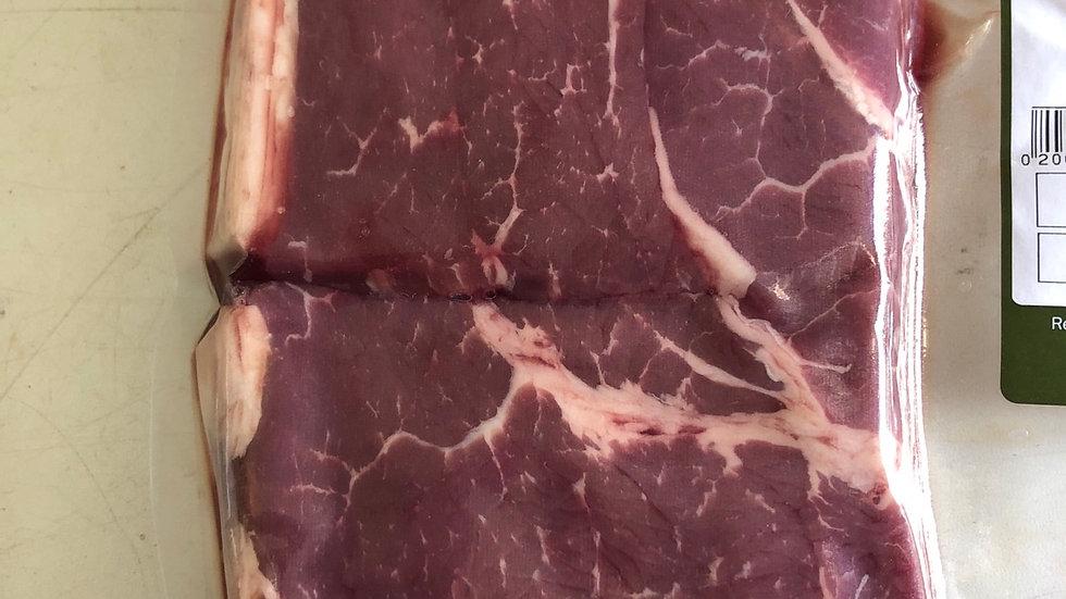 Red Ruby Rump Steak 2x 8oz per pack