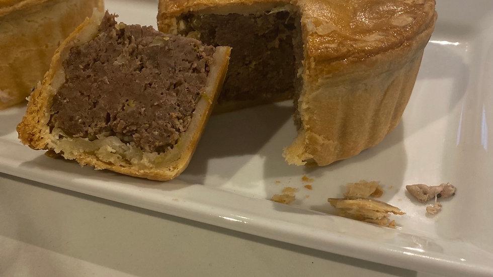 Frozen Cornish Venison pie