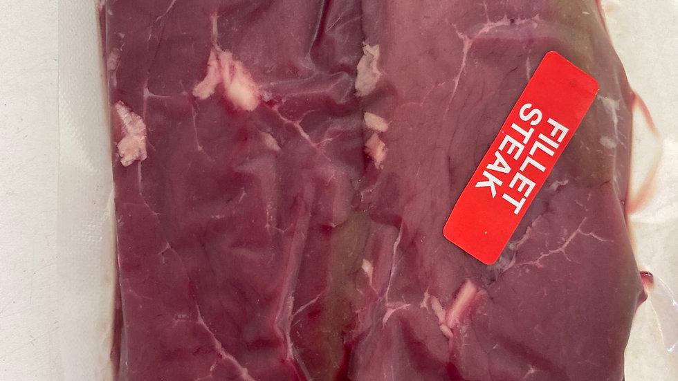 2 x Red ruby luxury fillet steaks