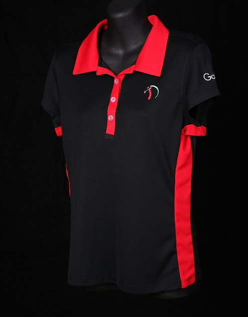 Women's Elite Golf Shirt w/color block