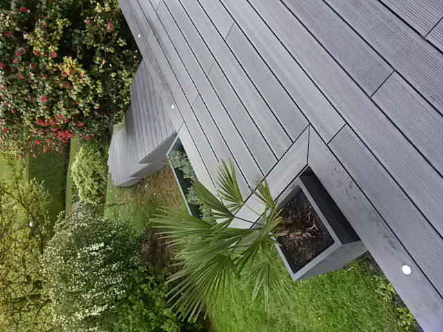 Terrasse + escaliers composite