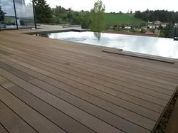 Plage de piscine Ipé