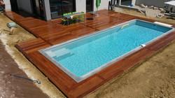 Plage de piscine Cumaru