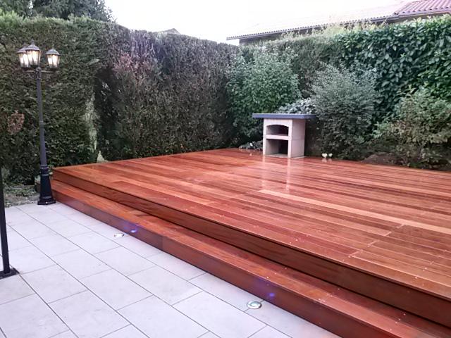 Terrasse Cumaru dans l'Ain