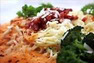 Turkey cutlets Parmesan
