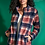 Thumbnail: Sherpa Plaid Jacket from French Dressing