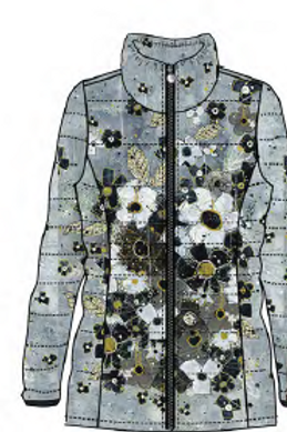 Home to Night Quilted Jacket