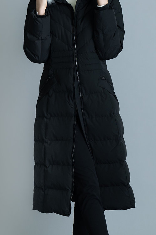 Cozy Quilted Coat from Marble