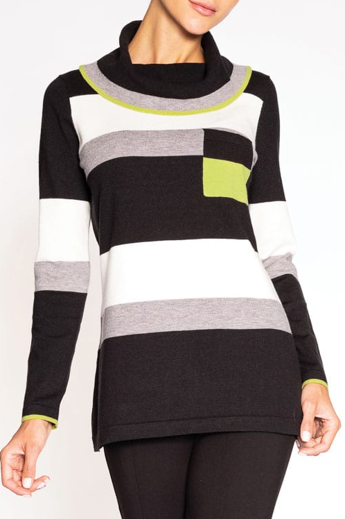 Alison Sheri Striped Sweater