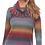 Thumbnail: Space Dyed Sweater with Fringed Cowel Neck