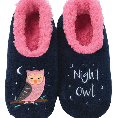 Night Owl Slippers by Snoozies