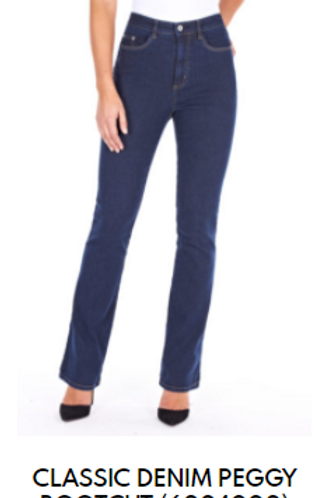 Classic 5 Pocket Peggy Jean in Regular and Petite Sizes