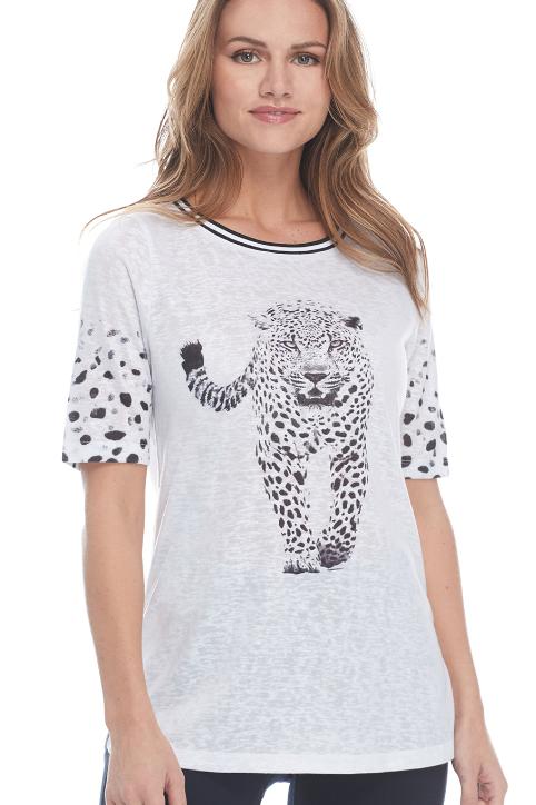 Leopard Tee.
