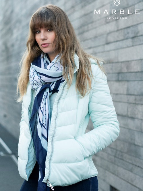 Quilted Jacket in Lush Mint