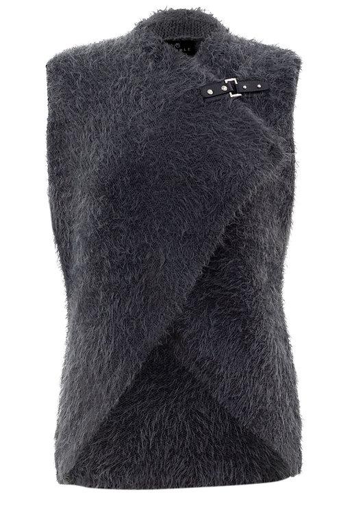 Eyelash Knit Vest